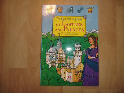 MALBUCH FÜR ERWACHSENE, The Big Coloring Book of Castles and Palaces ...