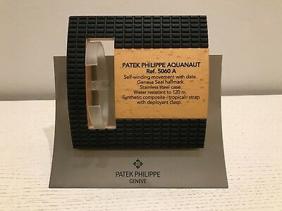 Expositor Patek Philippe Aquanaut 5060 A Display - Wood and Steel - Like New