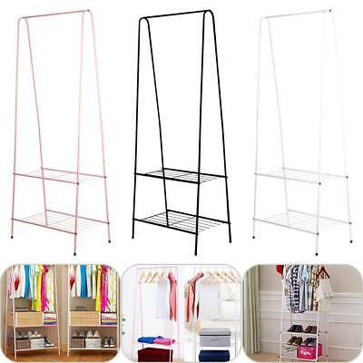 Clothes Rail Rack Garment Dress Hanging Display Stand Shoe Rack Storage Shelf UK
