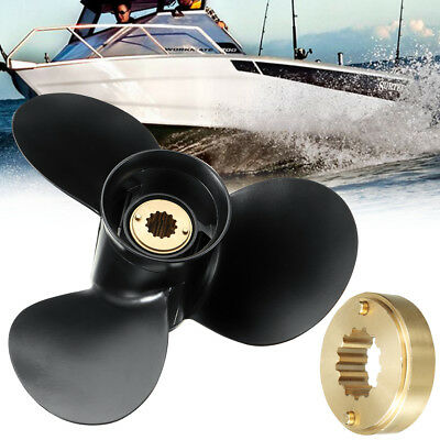 10 1/2 x 13 Aluminum Outboard Propeller For Mercury Engine 25-70HP 48-816704A40