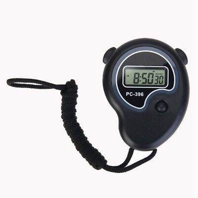 Digital Handheld Sports Stopwatch Stop Watch Time Clock Alarm Counter Timer H RP