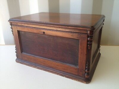 Old Wooden Chest Trunk Box