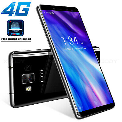 3+32GB 4G SIM Unlocked Android 6.0 Mobile Smart Phones Quad Core 13MP HD Phablet