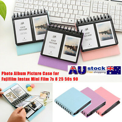 AU! 68 Pockets Photo Album For FujiFilm Instax Polaroid Fuji Film Camera 7s 8 9