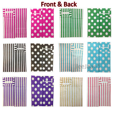 Pick And Mix Paper Bags Candy Stripe Polka Dots Sweet Gift Party Sweets
