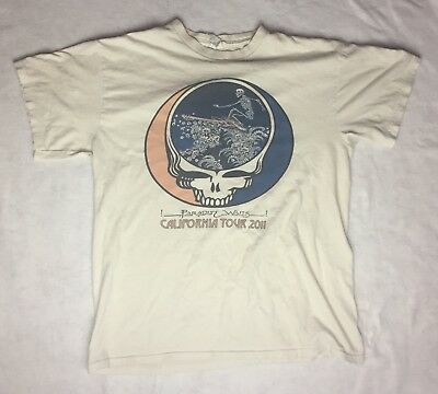 2011 Furthur California Tour Shirt - Size Large - Grateful Dead