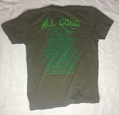 2012 All Good Shirt - Size Large - Grateful Dead Allman Brothers