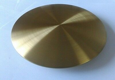 Satin Finished Brass Plated Bob Diameter 160mm Rod Size 25x7 mm
