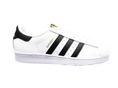 Adidas Sneakers Superstar J Bianco Nero C77154
