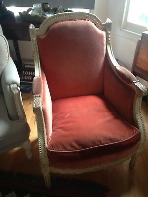 Louis XVI authentic : 4 amazing genuine Louis XVI seats18th Century.