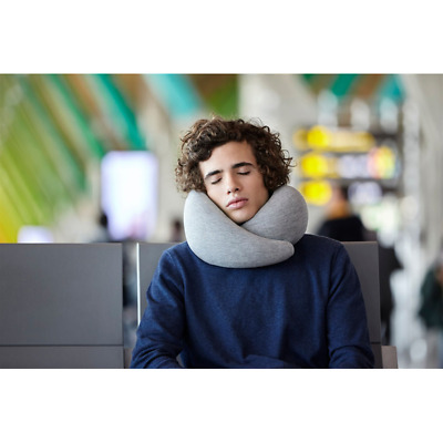 Ostrich Pillow Go Cuscino Da Viaggio In Memory Foam Lavabile Aquamarine