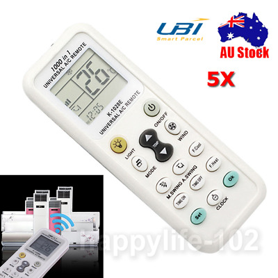 Remote Control Controller for Air Conditioner HW-1028E Universal LCD A/C AU