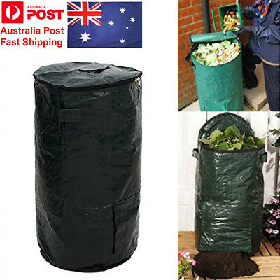 AU! Compost Bag Ferment Waste Disposal Homemade Organic Waste Garden Yard Bag