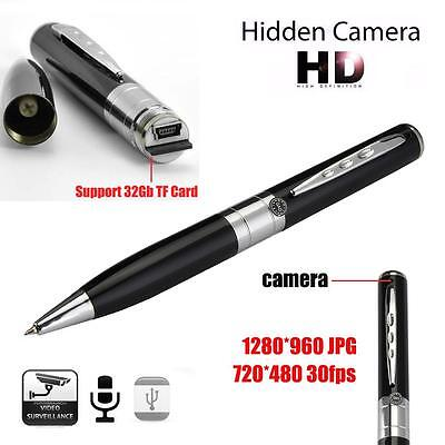 Hot Mini 1280×960 HD USB DV Spy Pen Camera Recorder Hidden Security DVR Video ZH