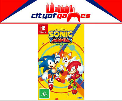 Sonic Mania Plus Nintendo Switch Brand New & Sealed