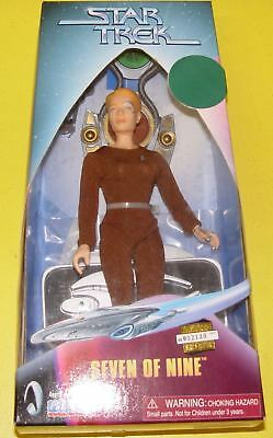 "Star Trek Playmates 9"" Voyager Seven of Nine 7of9 #65602A (002130)"