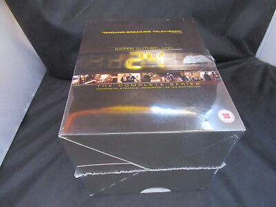 DVD Boxset 24 Complete Series Seasons 1-9 Jack Bauer Series New Sealed Damaged