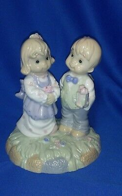Figurine Boy Girl Valentines 2002 Love is the Beauty of the Soul