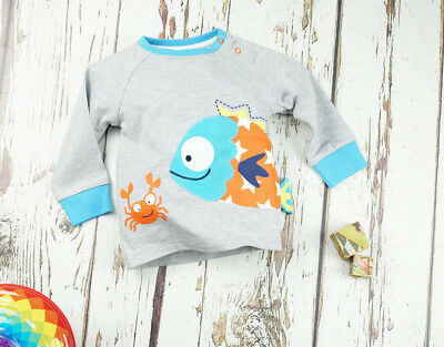 Blade and Rose Fish Top  0-6, 6-12 Months 1-2, 2-3 & 3-4 Yrs BNWT