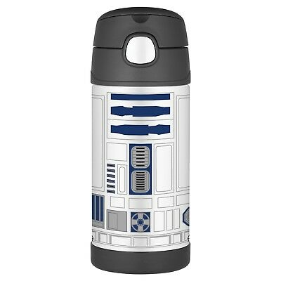 New Thermos FUNtainer Vacuum Insulated Stainless Steel Bottle Star Wars 12 oz