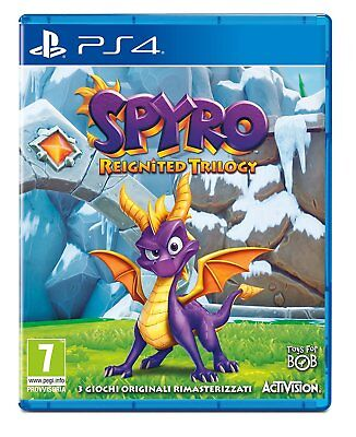 SPYRO REIGNITED TRILOGY NUOVO Playstation 4 PS4 italiano