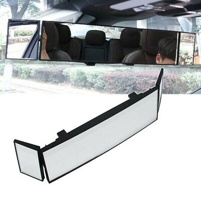 Auto Car Clip On Rear View Mirror Wide-angle Lens Convex Mirror Driving Safety