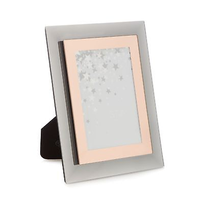 STAR BY JULIEN Macdonald Rose Gold Mirrored Glass Photo Frame ...