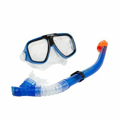 Intex Reef Rider I.6, Mask and Snorkel ADULT UNISEX Blue 21.6 x 17.1 x 69.9 .