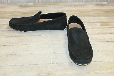 e4406e7218d UGG HENRICK DRIVING Moc Slip On Shoes - Men's Size 11 Black