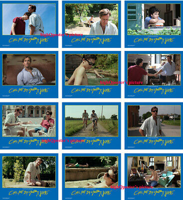 CALL ME BY YOUR NAME 4x6 PHOTO set lobby cards  Armie Hammer Timotee Chalamet