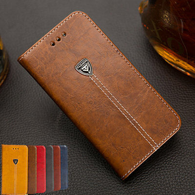 For Apple iPhone 8 6 6s 7 Plus X 5 Wallet Leather Flip Case Cover Magntic Luxury