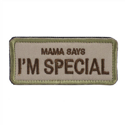 OneTigris Original Patch Tactical Morale Military Patch Mama Says I'm Special