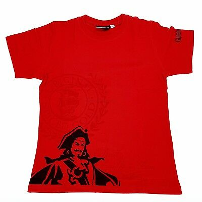 Captain Morgan Spiced Gold T-Shirt rot - Größe L (92 Baumw. / 8 Elasthan)
