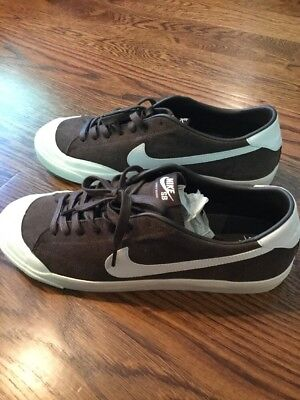 wholesale dealer 2bc85 721f2 NIKE SB ZOOM ALL COURT CK Skate Shoe Cory Kennedy Size 11.5 Brown