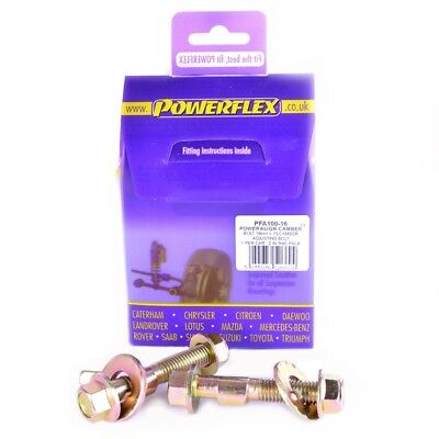 PFA100-16 SUPPORTI POWERFLEX UNIVERSAL Camber Bolts,4