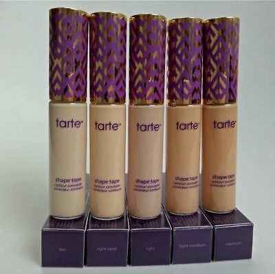 TARTE SHAPE TAPE CONTOUR CONCEALER HIGH COVER NATURAL COSMETICS 10ML - 5 Shades