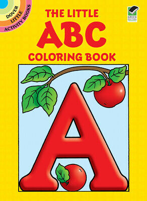 Dover Publications-The Little ABC Coloring Book - 5 Pack