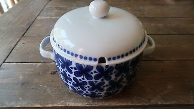 Vintage RARE Rorstrand Mon Amie 2.5 Qt Tureen with Lid Excellent Condition