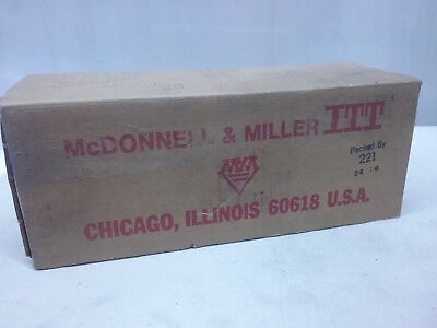 Genuine Mc Donnell & Miller USA ITT Liquid Fluid Flow Switch  FS4-3