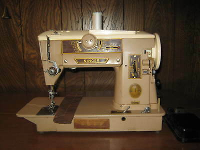 VINTAGE SINGER 40A Heavy Duty Industrial Sewing Machine W Foot Amazing Industrial Sewing Machine Foot Pedal