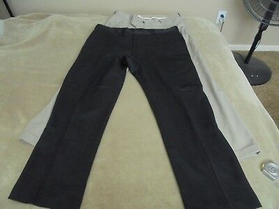 Black or Navy New Lee/'s Men/'s Casual Pants Waist size 29-50 Length 29-34