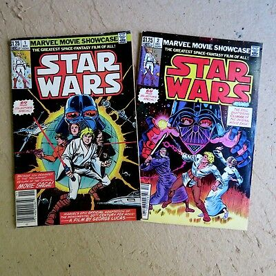 Marvel Movie Showcase 1, 2,  (1982), Star Wars Collector's Special, Marvel S2