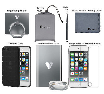Accessory Bundle for Apple iPod Touch- Power Bank, Screen Protector & More LOT