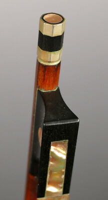 Beautiful old violin bow, archet, Geigenbogen, for repair! Karl Wilhelm Knopf!