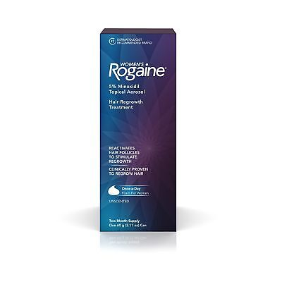 Women's Rogaine 5% Minoxidil Foam for Hair Thinning and Loss, Topical Treatme...