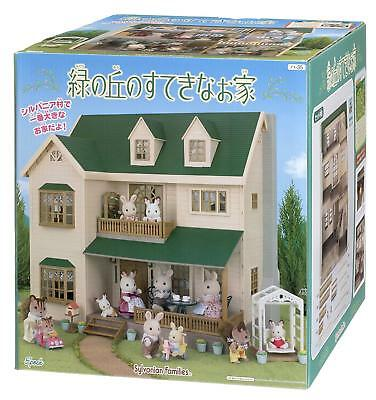 Sylvanian Families GREEN HILL HOUSE Epoch HA-35 Calico Critters US Seller