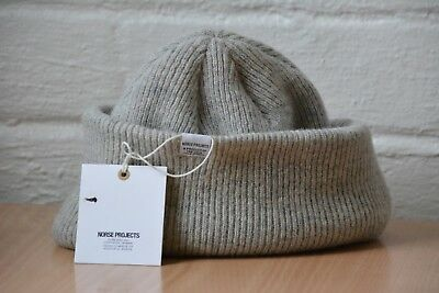 fda7a2849 NORSE PROJECTS NORSE Beanie - Light Grey Melange