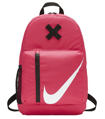 NIKE YOUNG ATHLETES ELEMENTAL BACKPACK PINK BLACK BA5405-622 NWT (18 x 12 x b6a38e897d702