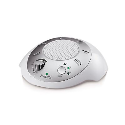Homedics White Noise Sound Machine   Portable Sleep Therapy for Home, Office,...