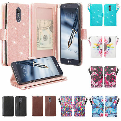 LG Stylo 4, Stylus 4 Case Leather Wallet Cae Cover w/ Kickstand and Card Slots